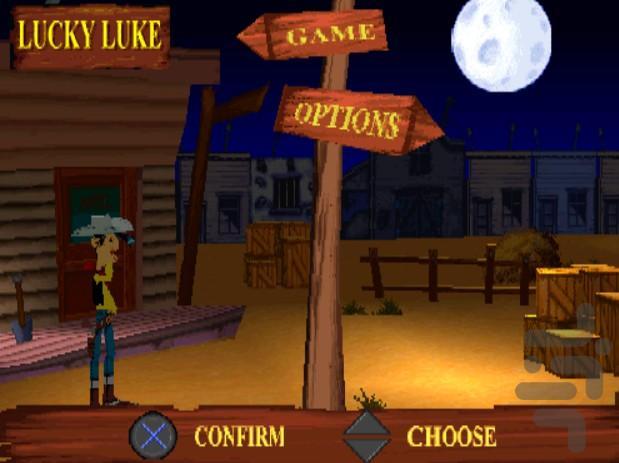 بازی دالتونها و لوک خوش شانس - عکس بازی موبایلی اندروید