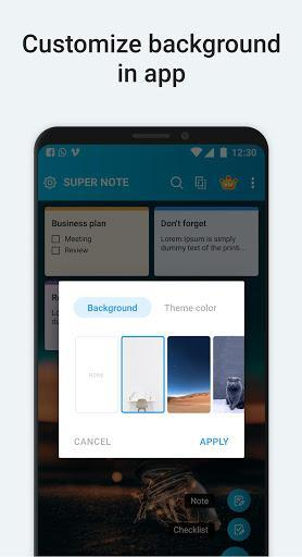Notepad - Notebook & Notes - عکس برنامه موبایلی اندروید