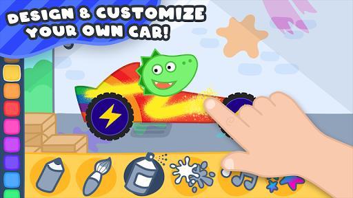 Racing Cars for Kids - عکس بازی موبایلی اندروید