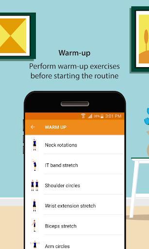 Home Workouts - عکس برنامه موبایلی اندروید