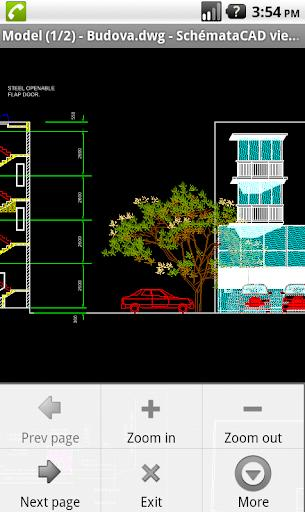 SchemataCAD viewer DWG/DXF - عکس برنامه موبایلی اندروید