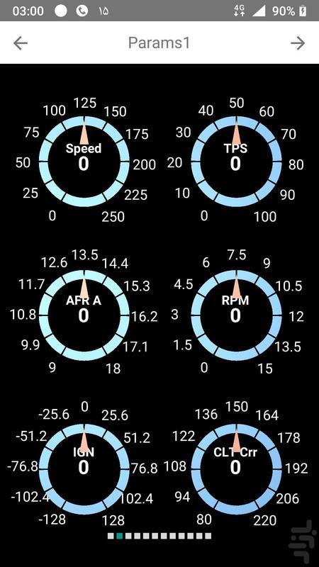داشبورد APE نسخه ۲ - عکس برنامه موبایلی اندروید