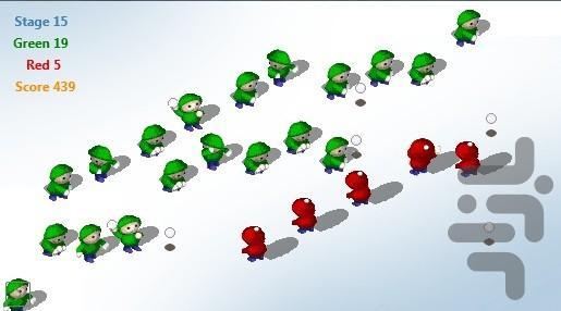 جنگ برفی - عکس بازی موبایلی اندروید