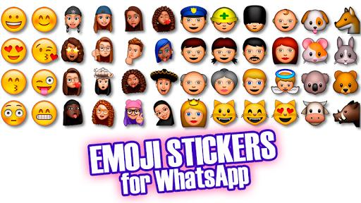 Emoji & Memoji Stickers for WhatsApp WAStickerApps - عکس برنامه موبایلی اندروید