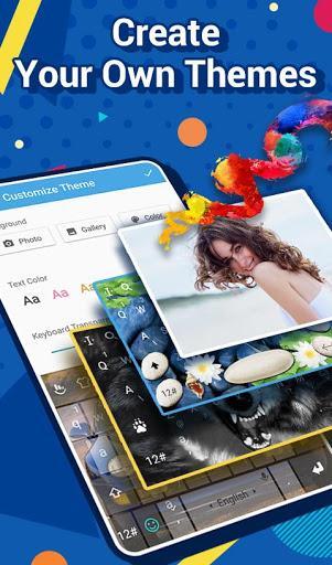 TouchPal Emoji Keyboard: AvatarMoji, 3DTheme, GIFs - عکس برنامه موبایلی اندروید