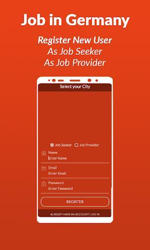 Jobs in Germany - عکس برنامه موبایلی اندروید