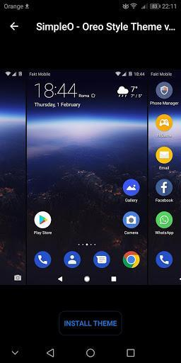 EMUI Themes Factory for Huawei - عکس برنامه موبایلی اندروید