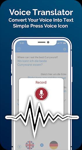 Translate App - Text to Voice - عکس برنامه موبایلی اندروید