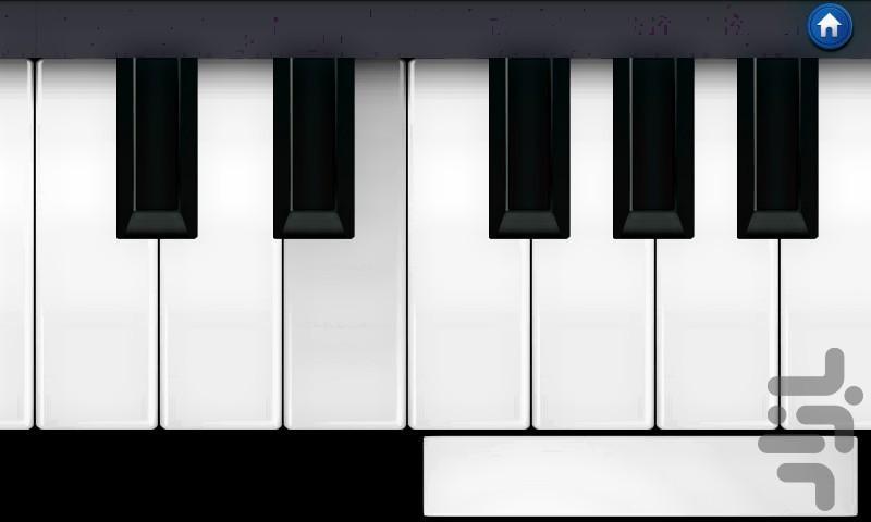 پیانو - عکس بازی موبایلی اندروید