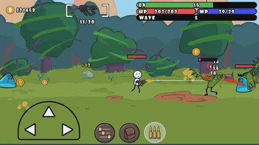 One Gun: Stickman - عکس بازی موبایلی اندروید