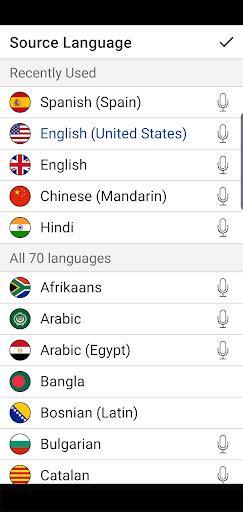 Instant Voice Translate - عکس برنامه موبایلی اندروید