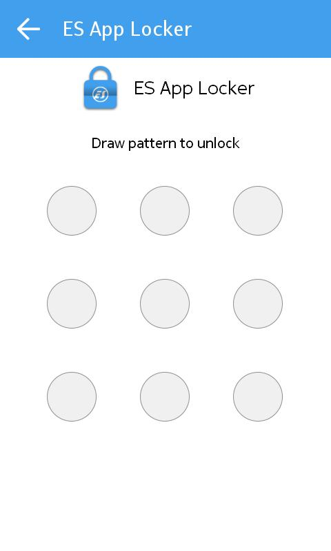 ES App Locker - عکس برنامه موبایلی اندروید