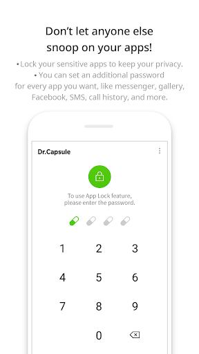 Dr.Capsule - Antivirus, Cleaner, Booster - عکس برنامه موبایلی اندروید