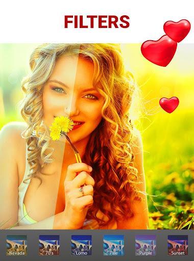 Love Collage Maker - Photo Editor & Heart Frames - عکس برنامه موبایلی اندروید