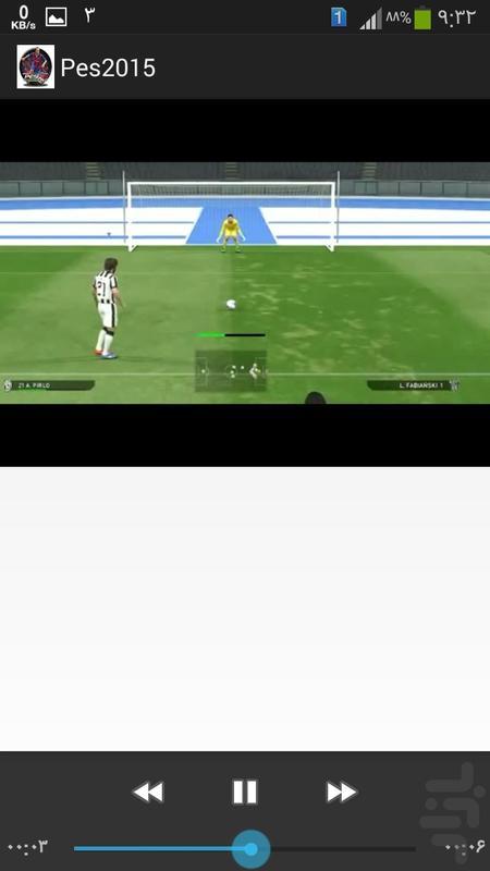 تکنیکهای pes2015 - عکس بازی موبایلی اندروید