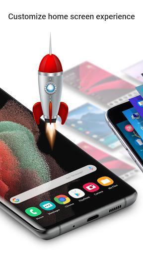 Launcher  Galaxy S21 Style - عکس برنامه موبایلی اندروید