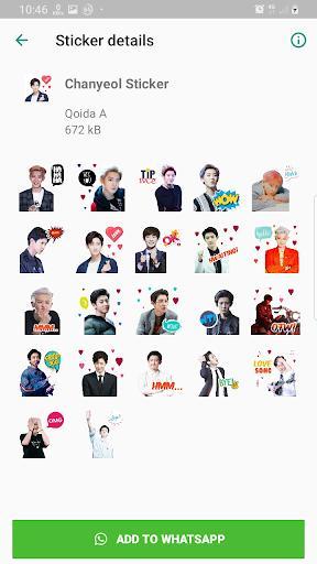 EXO WAStickerApps KPOP Idol for Whatsapp - عکس برنامه موبایلی اندروید