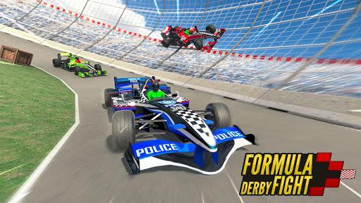 Formula Car Crash Derby : Demolish Car Games 2020 - عکس برنامه موبایلی اندروید