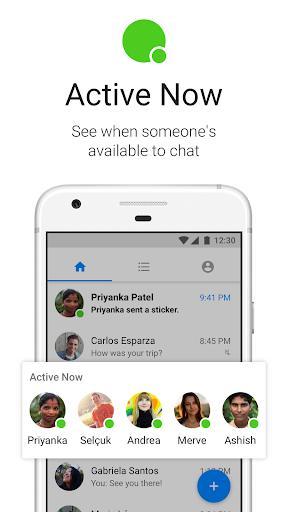 Messenger Lite: Free Calls & Messages - عکس برنامه موبایلی اندروید
