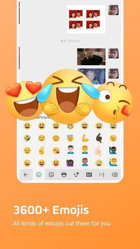 Facemoji Keyboard for ZTE-Themes & Emojis - عکس برنامه موبایلی اندروید
