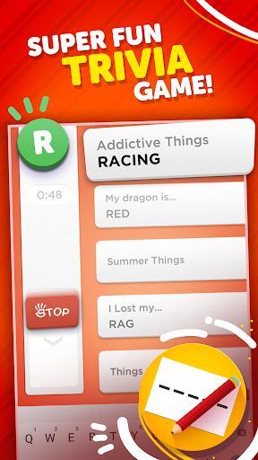 Stop - Categories Word Game – بازی با کلمات استاپ - عکس بازی موبایلی اندروید
