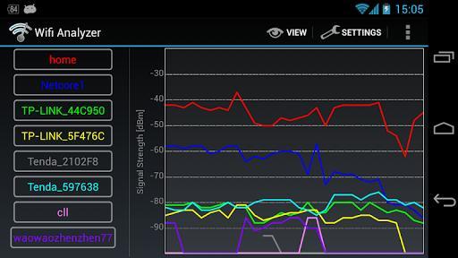 Wifi Analyzer Classic - عکس برنامه موبایلی اندروید