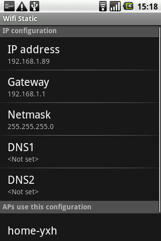 Wifi Static - عکس برنامه موبایلی اندروید