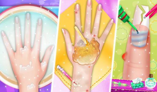 Nail Salon: Satisfying Nail Makeup Games For Girls - عکس بازی موبایلی اندروید