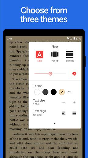 Lithium: EPUB Reader - عکس برنامه موبایلی اندروید