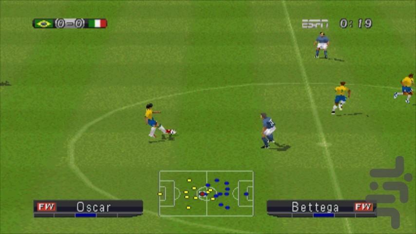 بازی فوتبال ۹۰ - عکس بازی موبایلی اندروید