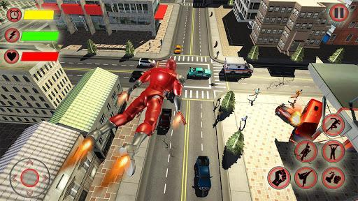 Super Speed Light Hero Games City Rescue Mission - عکس برنامه موبایلی اندروید