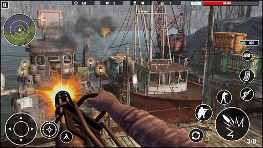 Gunner Navy War Shoot 3d : First-Person Shooters - عکس بازی موبایلی اندروید