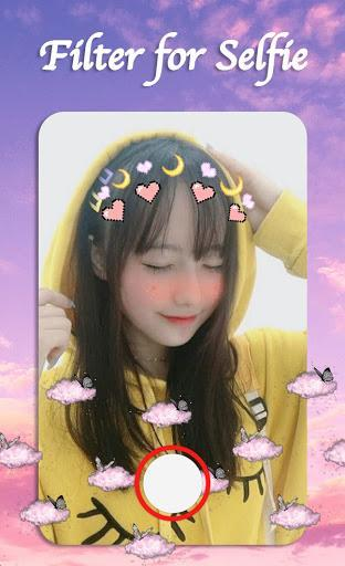 Filter for Selfie - Sweet Snap Face Camera - عکس برنامه موبایلی اندروید