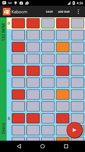 Kaboom beat maker MPC - loops - عکس بازی موبایلی اندروید