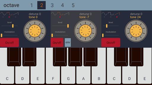 Sonic Synthesizer - عکس برنامه موبایلی اندروید