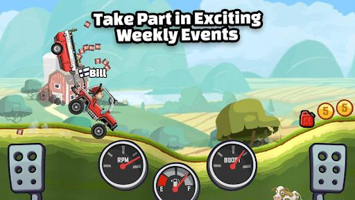 Hill Climb Racing 2 - عکس بازی موبایلی اندروید