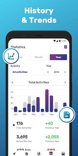 Running & Walking GPS FITAPP - عکس برنامه موبایلی اندروید