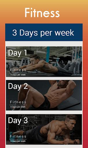 Fitness Workout-Bodybuilding-Weightlifting Trainer - عکس برنامه موبایلی اندروید