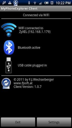 MyPhoneExplorer Client - عکس برنامه موبایلی اندروید