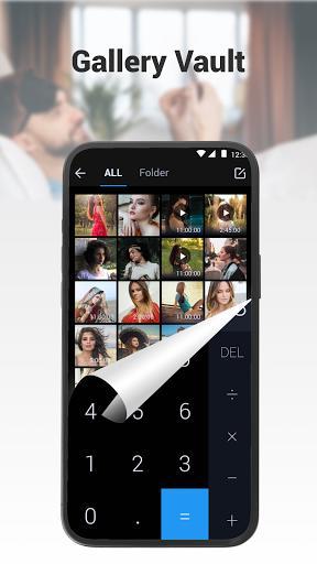 HideX – ماشین حساب قفل گذار - عکس برنامه موبایلی اندروید