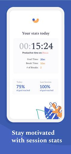 Flipd Focus & Study Timer - عکس برنامه موبایلی اندروید