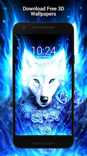 Wolf Wallpaper HD - عکس برنامه موبایلی اندروید