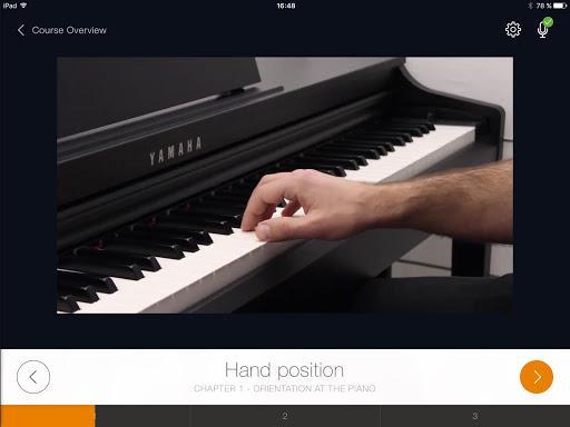 flowkey: Learn piano - عکس برنامه موبایلی اندروید
