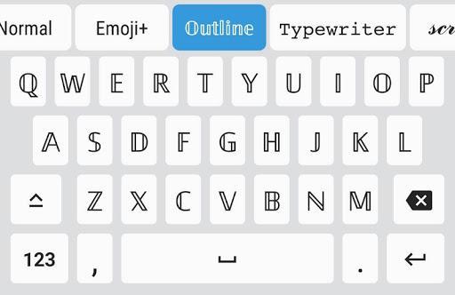 Fonts - Font Keyboard for Emoji, Symbols & Kaomoji - Image screenshot of android app