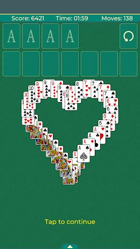 Solitaire Klondike classic. - Gameplay image of android game