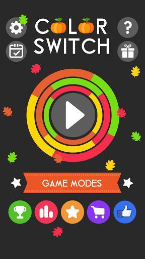 Color Switch - عکس بازی موبایلی اندروید