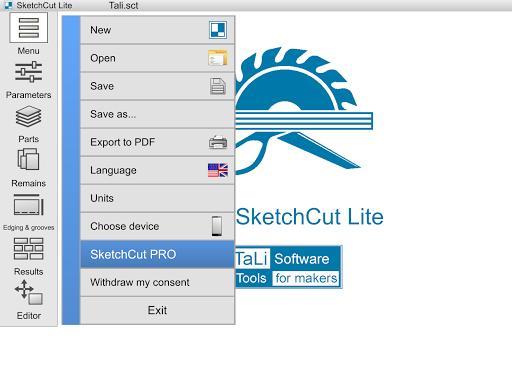 SketchCut Lite - Fast Cutting - عکس برنامه موبایلی اندروید