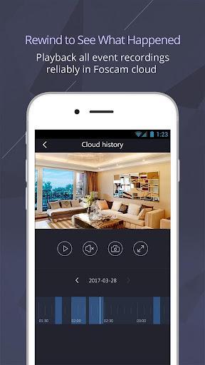 Foscam - عکس برنامه موبایلی اندروید