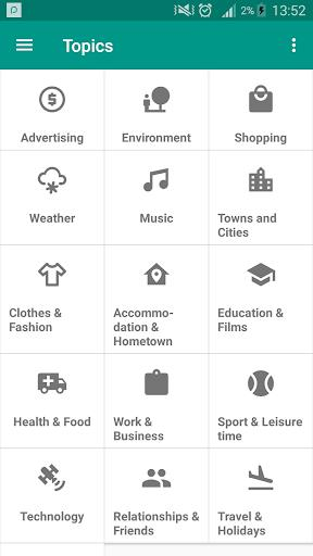 IELTS Speaking - عکس برنامه موبایلی اندروید