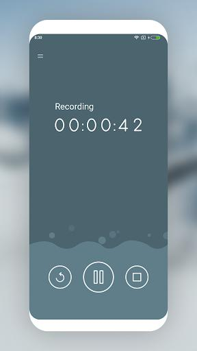 MP3 Recorder - عکس برنامه موبایلی اندروید